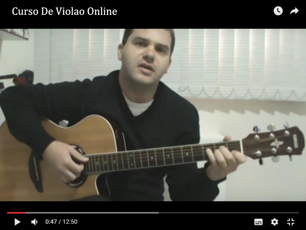 Curso De Violao Online